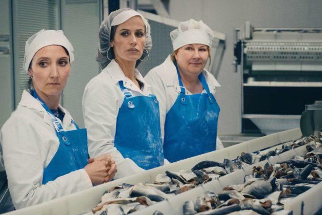 Drei Ladys und viel Fisch: Marilyn (Audrey Lamy), Sandra (Cécile de France) und Nadine (Yolande Moreau)
