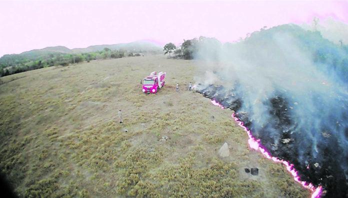 Neben riesigen Bränden im Regenwald toben in Brasilien auch tausende vergleichsweise kleinere Wald- und Buschbrände.