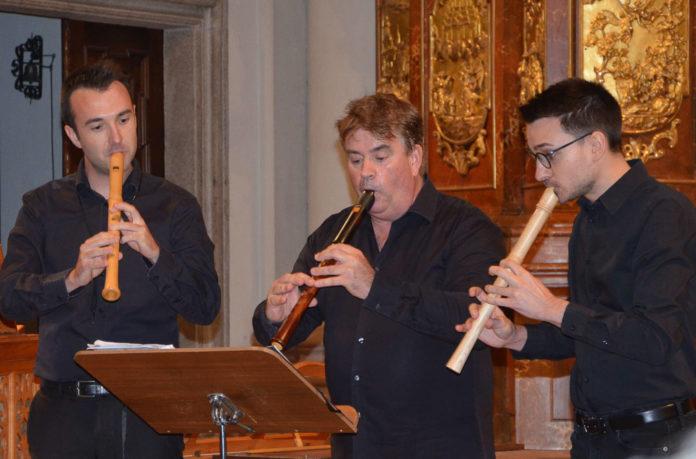Die Austrian Baroque Companie in der Ursulinenkirche