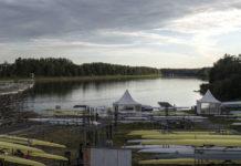Die Vorbereitungen im Regattazentrum Ottensheim auf die bevorstehende WM wurden vom tragischen Tod eines weißrussischen Sportlers überschattet.