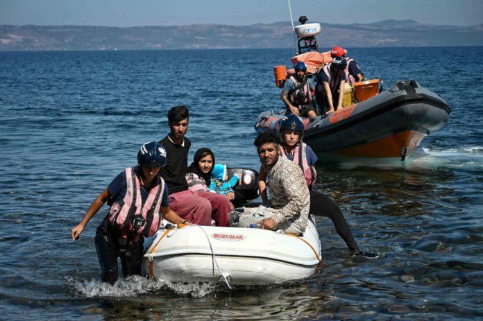 Ein Hauch von 2015: Migranten setzen wieder vermehrt von der Türkei nach Griechenland über.