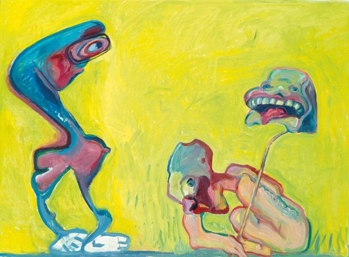 """Maria Lassnig: """"Fotografie gegen Malerei"""", 2005"""