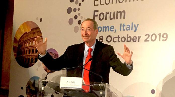 Christoph Leitl wurde gestern als Eurochambres-Präsident erfolgreich wiedergewählt.