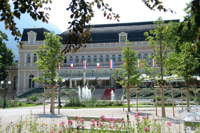 """""""Europäische Kulturhauptstadt 2024"""": Im Bild das Kurhaus in der Kaiser-Stadt Bad Ischl im Salzkammergut"""