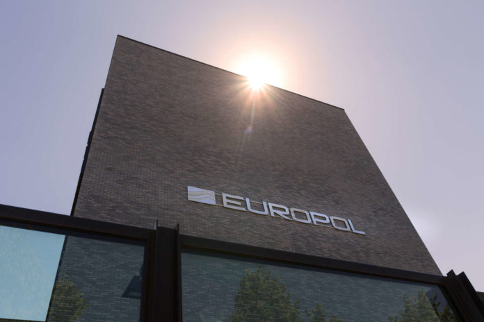 the hague, the hague/netherlands - 02 07 18: europol police