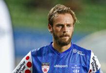 Ob Martin Grasegger und seine Teamkollegen die Saison im Blau-Weiß-Trikot beenden, ist noch ungewiss.