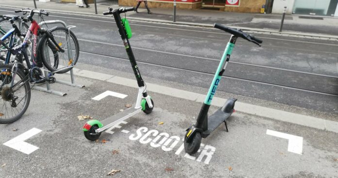 Aktuell sind Tier, Circ, Lime, Foa ma Mobility und Max Motion – also noch fünf Anbieter in Linz tätig.