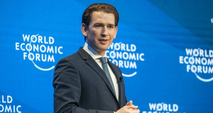 Kanzler Kurz beim Weltwirtschaftsforum in Davos: Grüne als neue Sozialdemokratie...