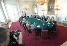 Gestern ging die erste Ministerratssitzung nach Angelobung der neuen Regierung über die Bühne.