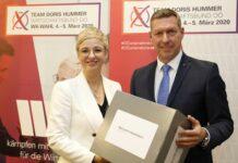 Setzen sich für eine positive Zukunft des Wirtschaftsstandorts ein: WB-Landesobfrau Hummer und WB-Direktor Greil