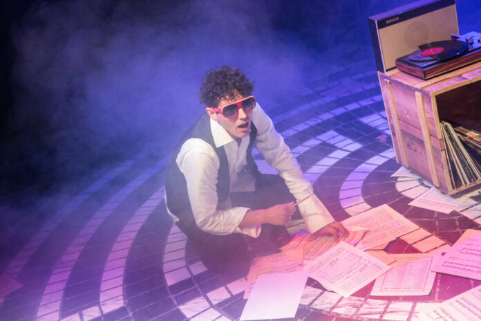 Großartig: David Baldessari als Orpheus