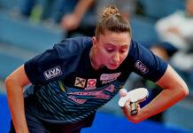Sofia Polcanova, Österreichs Nummer eins, muss wohl bis zu den Olympischen Spielen im August die Zähne zusammenbeißen.