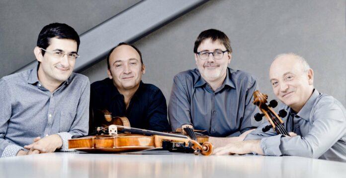 Das Konzert von Quatuor Danel wurde ergriffen aufgenommen.