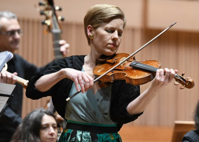 Solistin Isabelle Faust