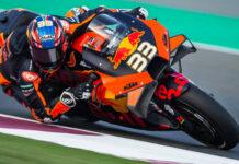 KTM-Werksfahrer Brad Binder kam auf seiner neuen MotoGP-Rennmaschine erstaunlich gut zurecht.