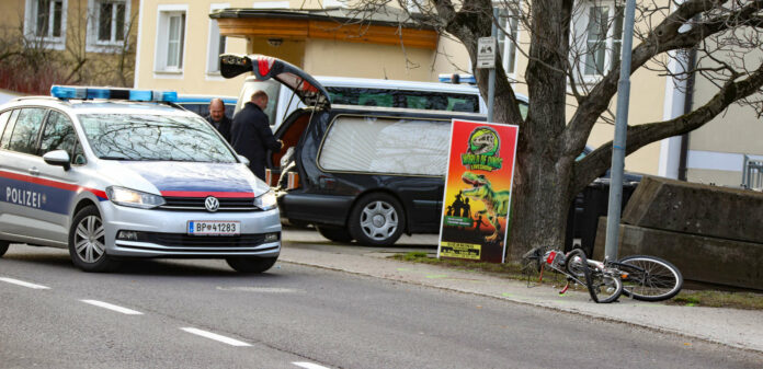 An dieser Stelle passierte der tödliche Unfall mit dem Radfahrer.