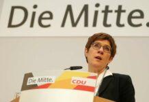 Annegret Kramp-Karrenbauer verabschiedet sich schon im April von der CDU-Spitze.