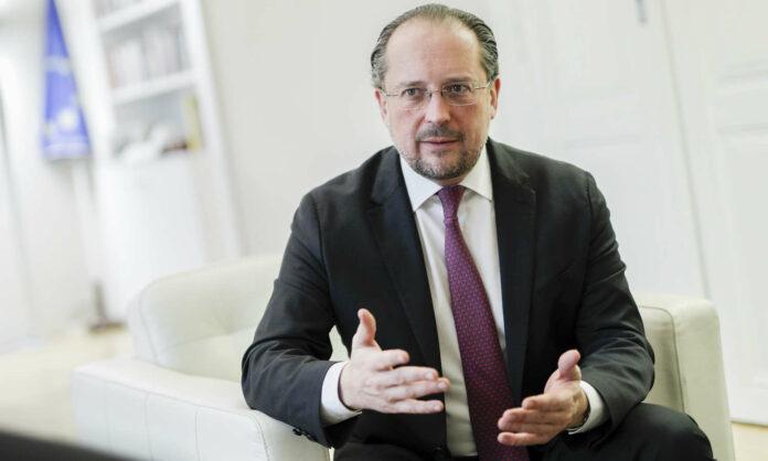 Außenminister Schallenberg: Nahost-Frieden nur durch Verhandlungen.