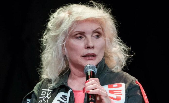 Blondie-Sängerin Debbie Harry bei der Vorstellung ihrer Biografie in Hamburg.