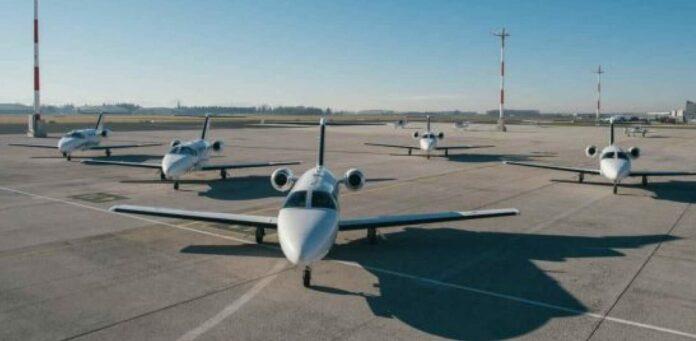 20 Cessna Jets stehen für die Privatkunden bei GlobeAir zur Verfügung.
