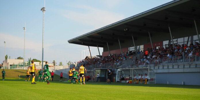 Falls WSC Hertha in die 2. Fußball-Bundesliga aufsteigt, darf der Klub die Huber-Arena des FC Wels nutzen — darüber wurde nun eine Einigung erzielt.