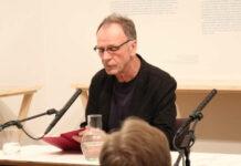 Josef Haslinger am Dienstag im Linzer Stifterhaus