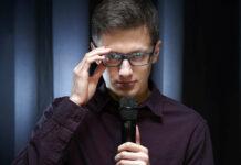 Christoph Fritz mischt derzeit die Kabarettszene auf.