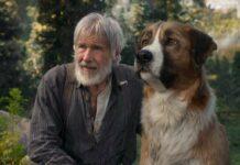 Harrison Ford und Hund