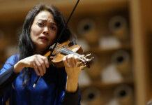 Midori Seiler spielte im Linzer Brucknerhaus auf.