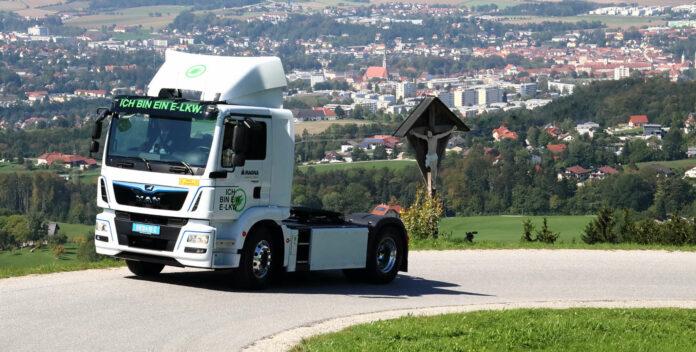 Bei MAN in Steyr liefen auch schon die ersten Elektro-Lkw vom Stapel, ein Aus für das Werk wird dementiert.