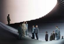Großartiges Bühnenbild des amerikanisch-deutschen Architekturbüros Barkow Leibinger