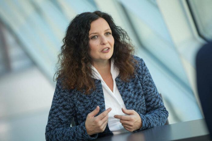 Cornelia Pöttinger ist designierte Landesleiterin der OÖVP Frauen.