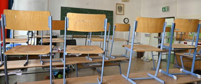 Die Klassenzimmer sind derzeit bundesweit verwaist.