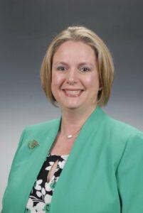 Präsidentin der Vereinigung der US-amerikanischen Intensivpfleger (AACN), Megan Brunson