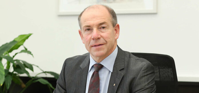 """LR Hiegelsberger plädiert für ein """"gemeinsames und beherztes Vorgehen"""" zur Meisterung der Krise."""