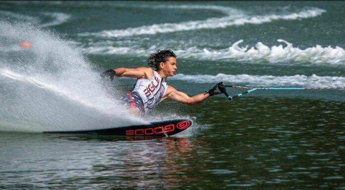 Die Wasserski-Saison wird heuer für Alexander Gschiel nur in minimierter Form stattfinden, die Ziele bleiben trotzdem hoch.