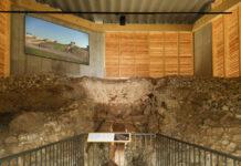 Innnenansicht des Schutzbaues Calcar