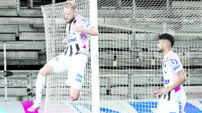 Der Fallrückzieher von Joao Klauss zum 4:0 war die Krönung eines gelungenen Fußballabends für den LASK.
