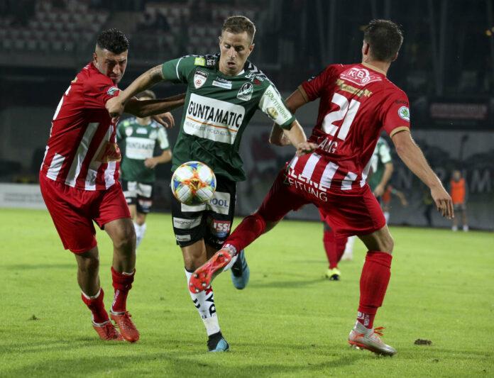Stefan Nutz und seine Rieder wollen nach der Pleite beim GAK gegen Kapfenberg zurück in die Erfolgsspur.