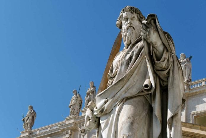 Die katholische Kirche gedenkt heute Petrus (l.) und Paulus (r.). Sie gelten als Begründer der Weltmission. Heute boomt das Glaubensleben aber abseits ihrer antiken Routen.