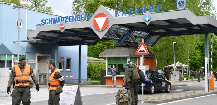 Anfang Mai rückten die Milizsoldaten der 3. Jägerkompanie des Jägerbataillon Salzburg in der Schwarzenberg-Kaserne ein, das bedeutete wegen der Corona-Krise zugleich die erste Teilmobilmachung der Bundesheer-Miliz in der Geschichte des Landes.