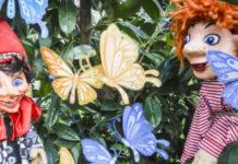 Kasperl, Seppy und der kleine Drache Basti möchten auf der bunten Sommerwiese Schmetterlinge anschauen. Doch dann kommt alles ganz anders ...
