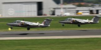 Die alten Saab 105 werden nicht mehr oft am Hörschinger Flughafen zu sehen sein.