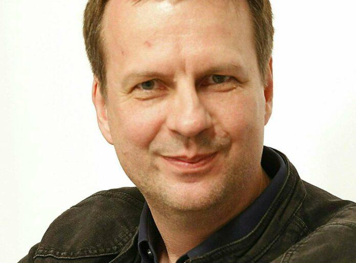Der deutsche Schriftsteller Bov Bjerg