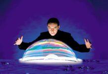 Eine Mischung aus Seife und Wasser, Magie und Physik: die Seifenblasen von Belloswski