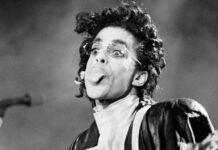 Prince 1987 bei einem Auftritt in Paris