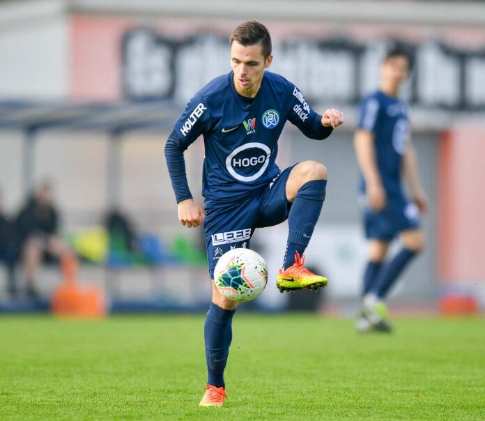 Trotz Umbruchs will WSC/Hertha (im Bild Lukas Mayer) wieder eine gute Rolle in der Regionalliga Mitte spielen.