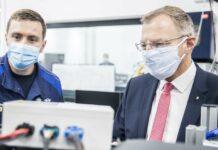 LH Stelzer stattete dem Dieselmotoren-Entwicklungszentrum im BMW Group Werk Steyr einen Besuch ab.