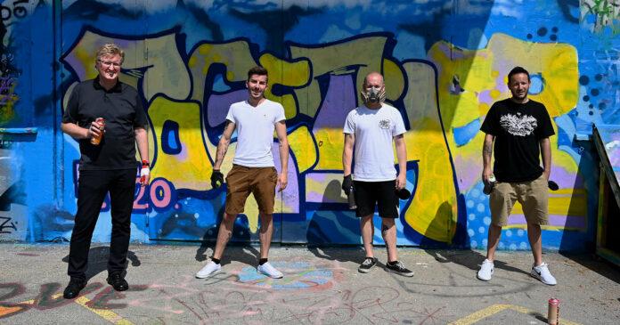 """Zusammen für urbane Kunst am """"together 2020"""""""