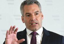Innenminister Karl Nehammer kündigte am Sonntag ein konsequentes Einschreiten der Exekutive an.